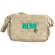 AF Sister is my hero Messenger Bag
