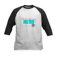 AF Sister Brother is my hero Baseball Jersey