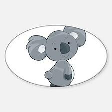 Cute Gray Koala Decal
