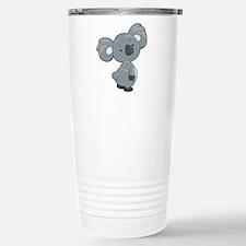 Cute Gray Koala Travel Mug