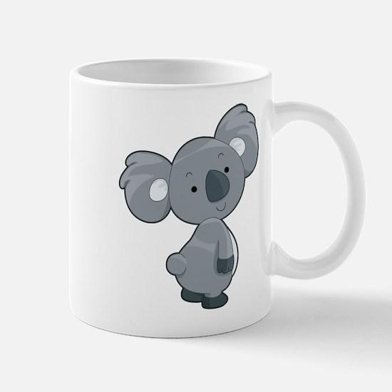 Cute Gray Koala Mug