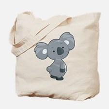 Cute Gray Koala Tote Bag