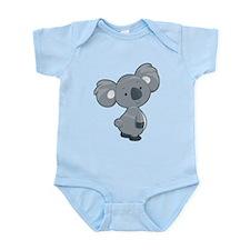 Cute Gray Koala Body Suit