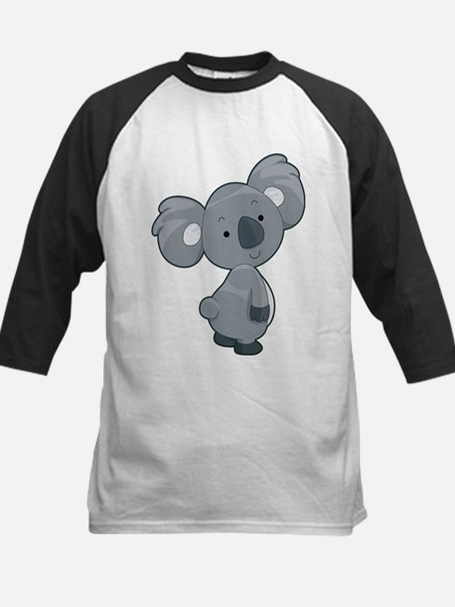 Cute Gray Koala Baseball Jersey