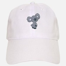 Cute Gray Koala Baseball Cap