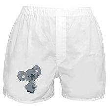 Cute Gray Koala Boxer Shorts