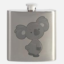 Cute Gray Koala Flask