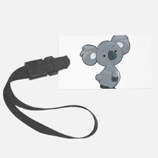 Cute Gray Koala Luggage Tag