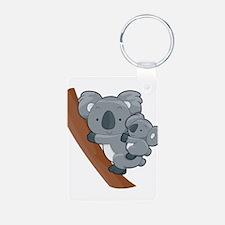 Two Koalas Keychains