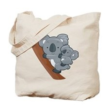 Two Koalas Tote Bag