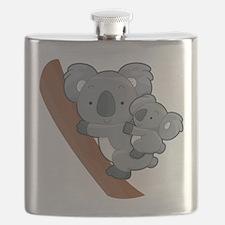 Two Koalas Flask