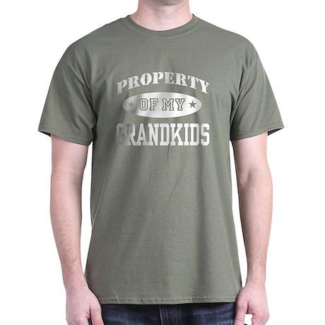 Property Of My Grandkids Dark T-Shirt