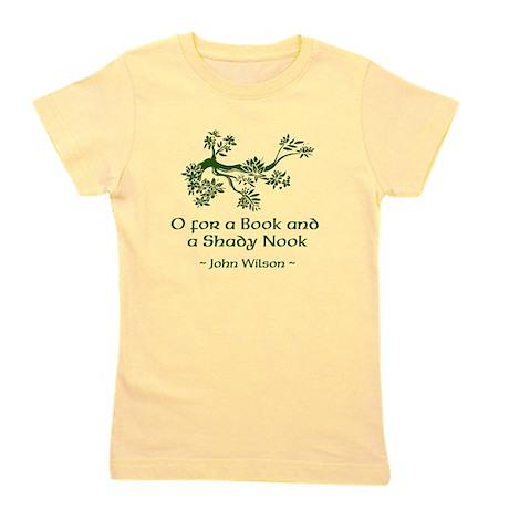 O for a Book Girl's Tee
