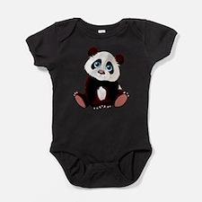 Baby Panda Baby Bodysuit