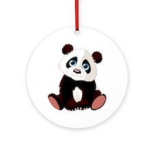 Baby Panda Ornament (Round)