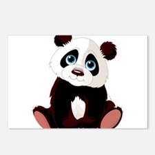 Baby Panda Postcards (Package of 8)