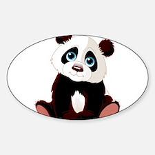 Baby Panda Bumper Stickers