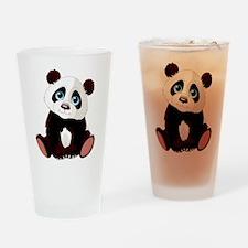 Baby Panda Drinking Glass