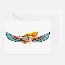 Egyptian Eye Of Horus Greeting Cards (Pk of 10