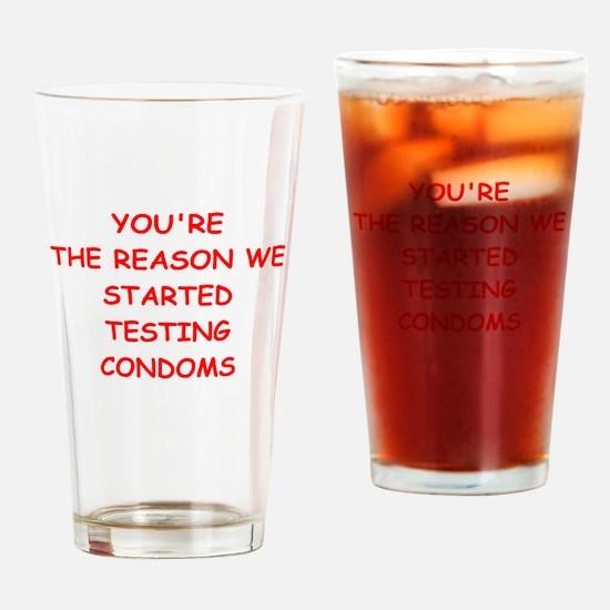 bastard Drinking Glass