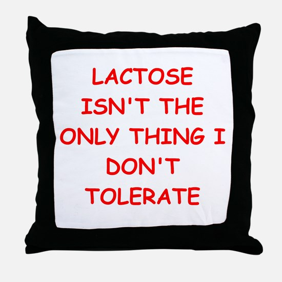 tolerate Throw Pillow