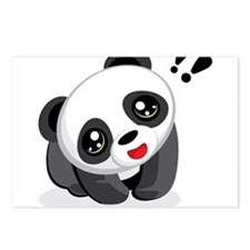 Excited Panda Postcards (Package of 8)