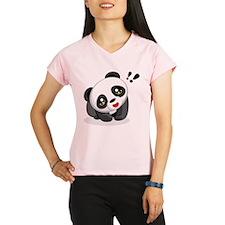 Excited Panda Peformance Dry T-Shirt