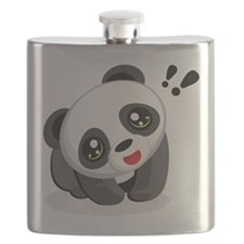 Excited Panda Flask