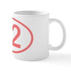 Number 42 Oval Mug