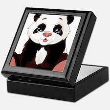 Cute Baby Panda Keepsake Box