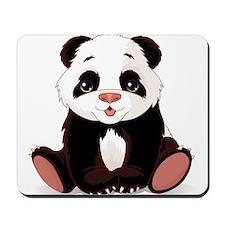 Cute Baby Panda Mousepad