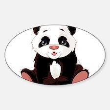 Cute Baby Panda Decal