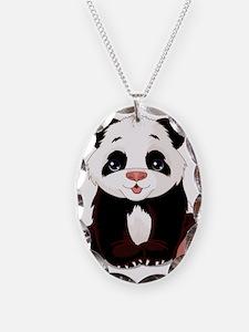Cute Baby Panda Necklace