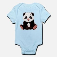 Cute Baby Panda Body Suit