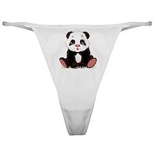 Cute Baby Panda Classic Thong