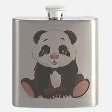 Cute Baby Panda Flask