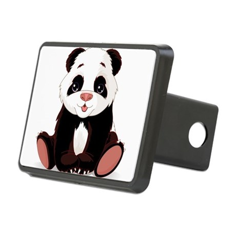 Cute Baby Panda Hitch Cover