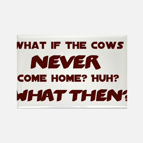 What if the Cows Never Come Home? Rectangle Magnet