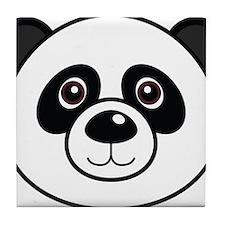 Panda Face Tile Coaster