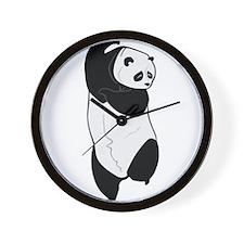 Dancing Panda Wall Clock