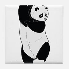 Dancing Panda Tile Coaster