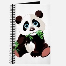 Panda Eating Bamboo Journal