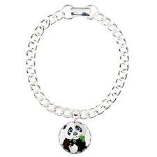 Panda Eating Bamboo Bracelet