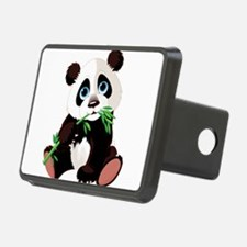 Panda Eating Bamboo Hitch Cover