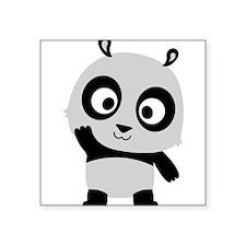 Waving Panda Sticker