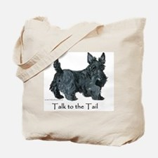 Scottish Terrier Attitude Tote Bag