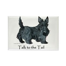 Scottish Terrier Attitude Rectangle Magnet (100 pa