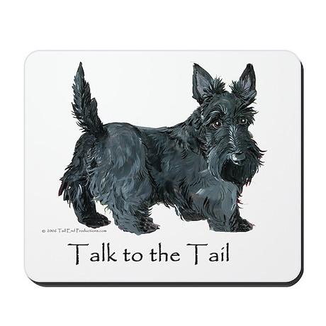 Scottish Terrier Attitude Mousepad