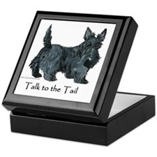 Scottish Terrier Attitude Keepsake Box