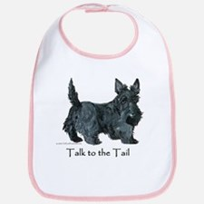 Scottish Terrier Attitude Bib